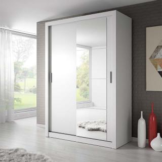 Armoire coulissante 2 portes ARTI en blanc