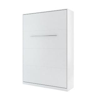 Lit escamotable vertical CONCEPT blanc 140x200