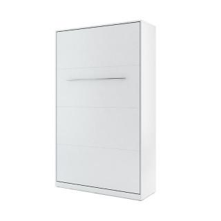Lit escamotable vertical CONCEPT blanc 120x200