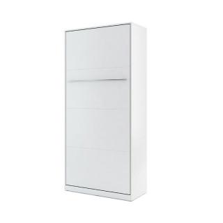 Lit escamotable vertical CONCEPT blanc 90x200