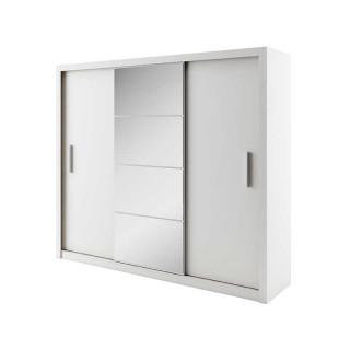 Armoire coulissante 3 portes IDEA blanc