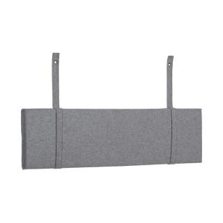 Coussin gris pour tête de lit SIMPLE 120 cm