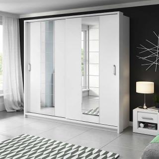 Armoire coulissante 2 portes ARTI blanc