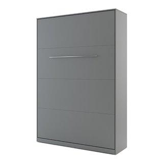 Lit escamotable vertical CONCEPT gris 140x200